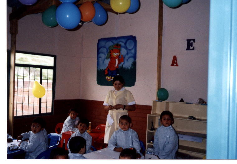 St George's classroom